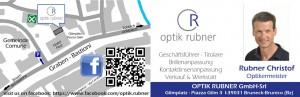 visitenkarten Optik Rubner
